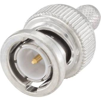 Rosenberger 71S102-109N5 BNC connector Plug, straight 75 Ω 1 pc(s)