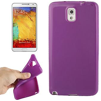 TPU case cover voor Samsung Galaxy touch 3 / N9000 paars / violet