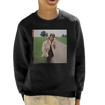 TV keer Roger Moore Park wandel 1968 Kid's Sweatshirt