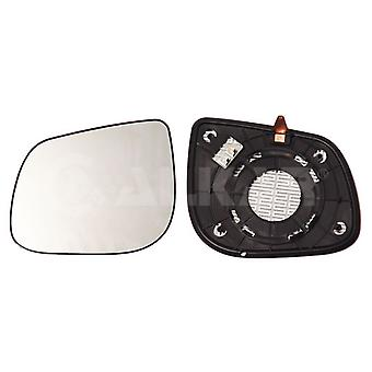 Left Passenger Side Mirror Glass (Heated) & Holder For KIA PICANTO 2011-2017