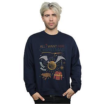 Harry Potter Men's All I Want For Christmas Sweatshirt