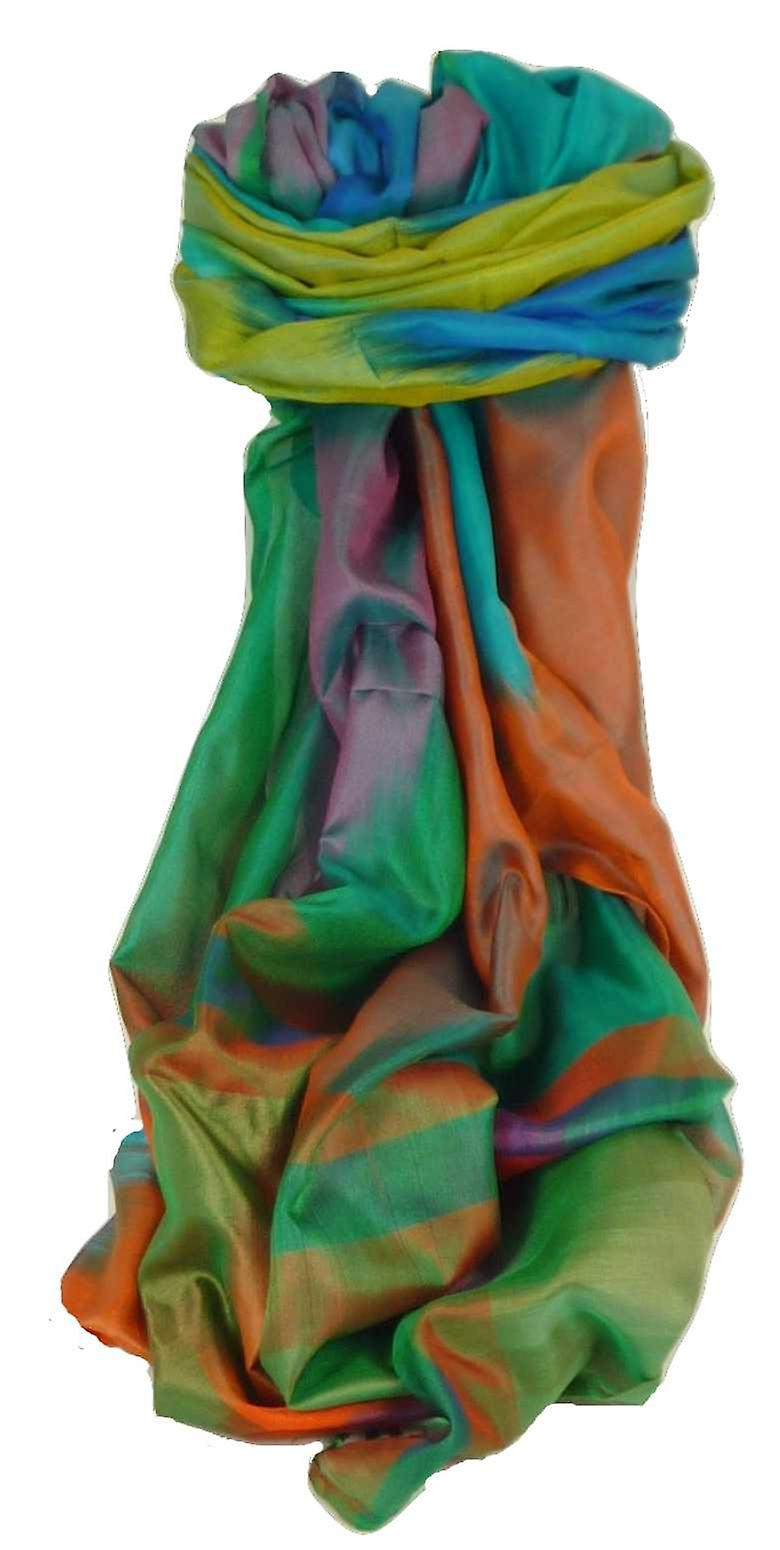 Varanasi Ekal Premium Silk Long Scarf Heritage Range Chana 9 by Pashmina & Silk
