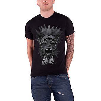 Gojira Mens T Shirt Black Head Scream Tribal Man band logo Official