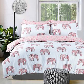 Pieridae Elephant Duvet Cover Quilt Cover Bedding Set