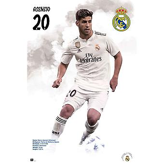 Real Madrid CF Asensio Poster