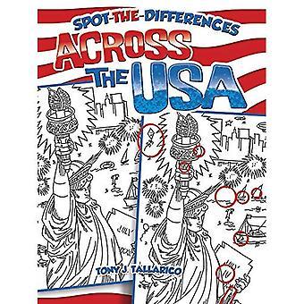 Spot-The-différences à travers les USA