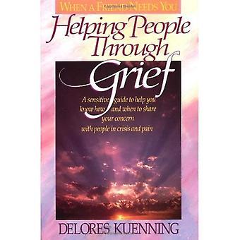 Pomaga ludziom przez smutek