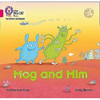 Collins Big Cat Phonics for Letters and Sounds - Mog and Mim: Band 1B/Pink B (Collins Big Cat Phonics� for Letters and Sounds)