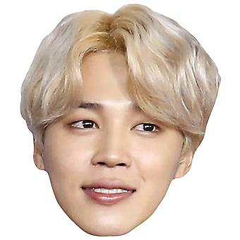 Jimin from BTS Bangtan Boys 2D Card Party Fancy Dress Mask
