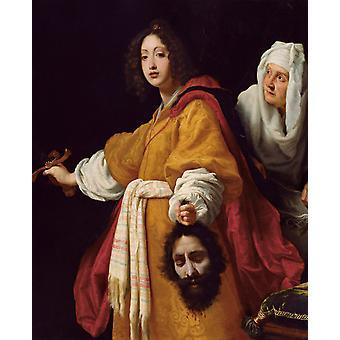 Judith avec la tête de Holofernes, ALLORI Cristofano, 50x40cm