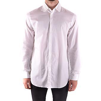 Givenchy Ezbc010009 Men's White Cotton Shirt
