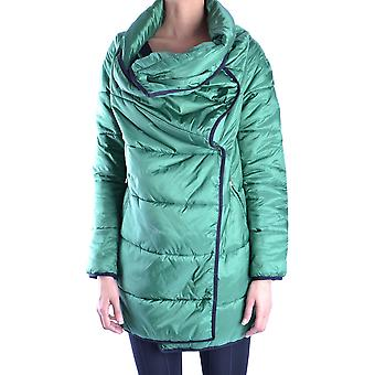 Bikkembergs Ezbc101010 Dames's Green Polyester Down Jacket