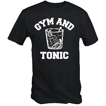 Funny gym and tonic t shirt sunny always in philadelphia tv