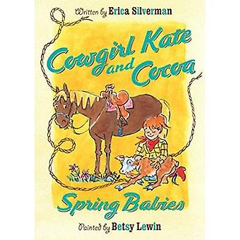 Spring Babies by Erica Silverman - Betsy Lewin - 9780547566856 Book