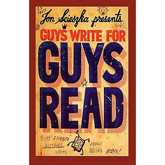 Guys Write for Guys Read by Jon Scieszka - 9781417823994 Book