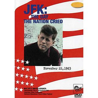 JFK-Day the Nation Cried [DVD] USA import