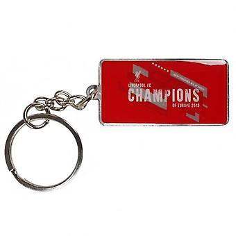Liverpool Champions van Europa sleutelhanger