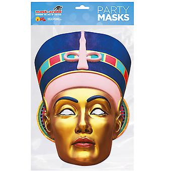 Egyptian Queen Historical Single 2D Card Party Fancy Dress Mask