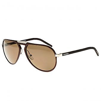 Breed Nova Aluminium Polarized Sunglasses - Brown/Brown