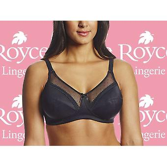 Royce Lingerie Women's Charlotte Wire-Free Cotton-Lined Seamless Comfort Bra (821)