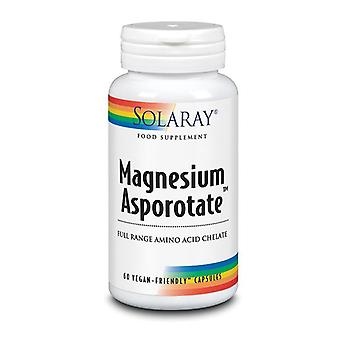 Solaray magnesium Asporotat 200mg kapsler 60 (1081)