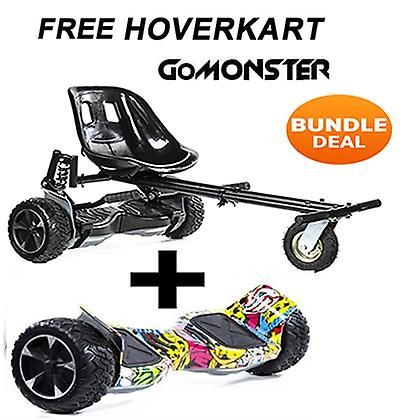 FREE Suspension Hoverkart with 8.5