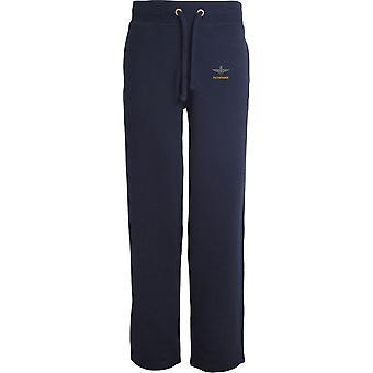 Parachute Regiment Pathfinder - Licensed British Army Embroidered Open Hem Sweatpants / Jogging Bottoms
