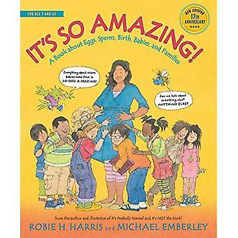 Es tan asombroso!: un libro sobre óvulos, espermatozoides, nacimiento, bebés y familias (biblioteca familiar)