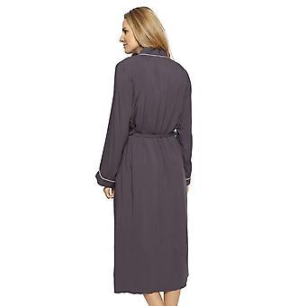 Cyberjammies 1333 Kobiety's Nora Rose Nancy Grey Modal Long Robe