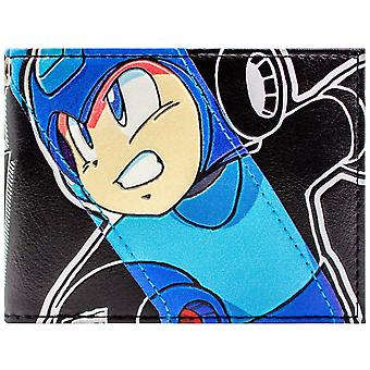 Mega Man Retro NES peli robotti Hero ID & kortti kaksoistaitos lompakko