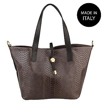 Handbag made in leather 5276