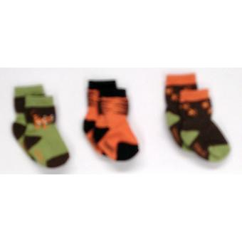 Robeez 3-Pack Baby / Kleinkind Multi-Color Socken