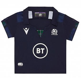 2019-2020 Skottland macron hem Rugby baby skjorta