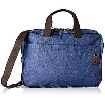 BREE Collection Punch Style 67 Denim Briefc Jeans. S19 - Unisex Adult Blue shoulder bags (Jeans Denim) 13x30x36 cm (B x H T)