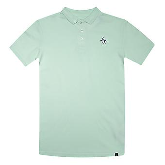 Infant Boys Original Penguin Raised Tipped Polo Shirt in Green