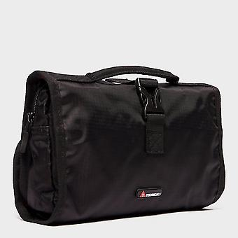 New Technicals Foldout Wash Bag Travel Accessory Black