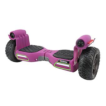 iScooter Electric Monster Mist Spray Hoverboard Smart Scooter Purple - 8