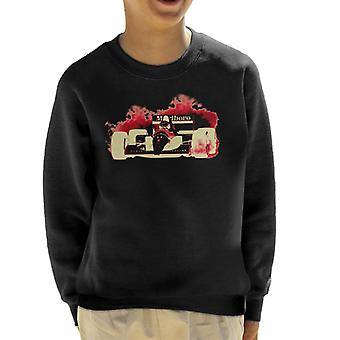 Motorsport Images Ayrton Senna McLaren MP46 Portuguese GP Negative Kid's Sweatshirt