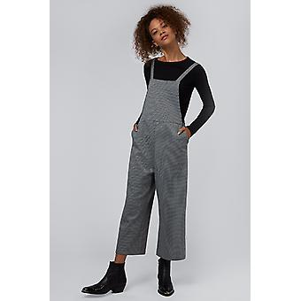Louche Davis Pow Pinafore Jumpsuit Black/White