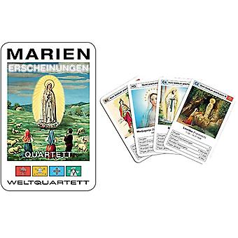 玛丽的圣母显灵四方奇迹四方纸牌游戏