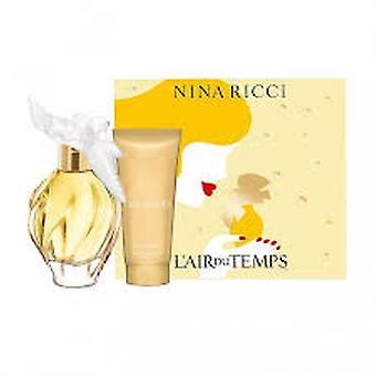 Nina Ricci L ' Air du temps cadeauset 50ml EDT + 75ml body lotion