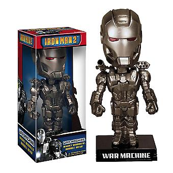 Iron Man 2 War Machine Wacky Wobbler