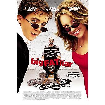 Big fat Liar original Cinema affisch