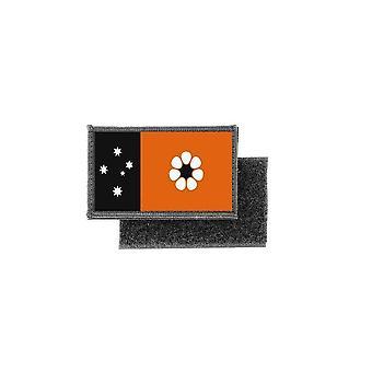Patch écusson wordt afgedrukt Australische vlag badge Noordelijk Territorium