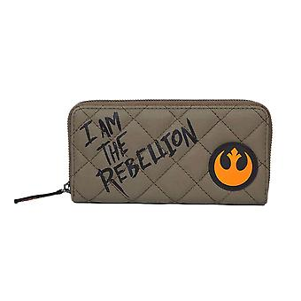 Star Wars Rebel Alliance Zip Around Purse