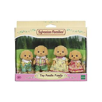 Sylvanian Families Toy Poodle Family  5259