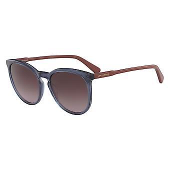 Longchamp LO606S 429 Óculos de sol de gradiente de gasolina/marrom