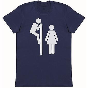 Toilet Sign - Mens T-Shirt
