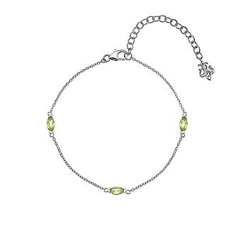 Anais Hot Diamonds Anais August Peridot Bracelet AB008