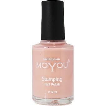 MoYou Stamping Nail Art - Special Nail Polish - Nude 12ml